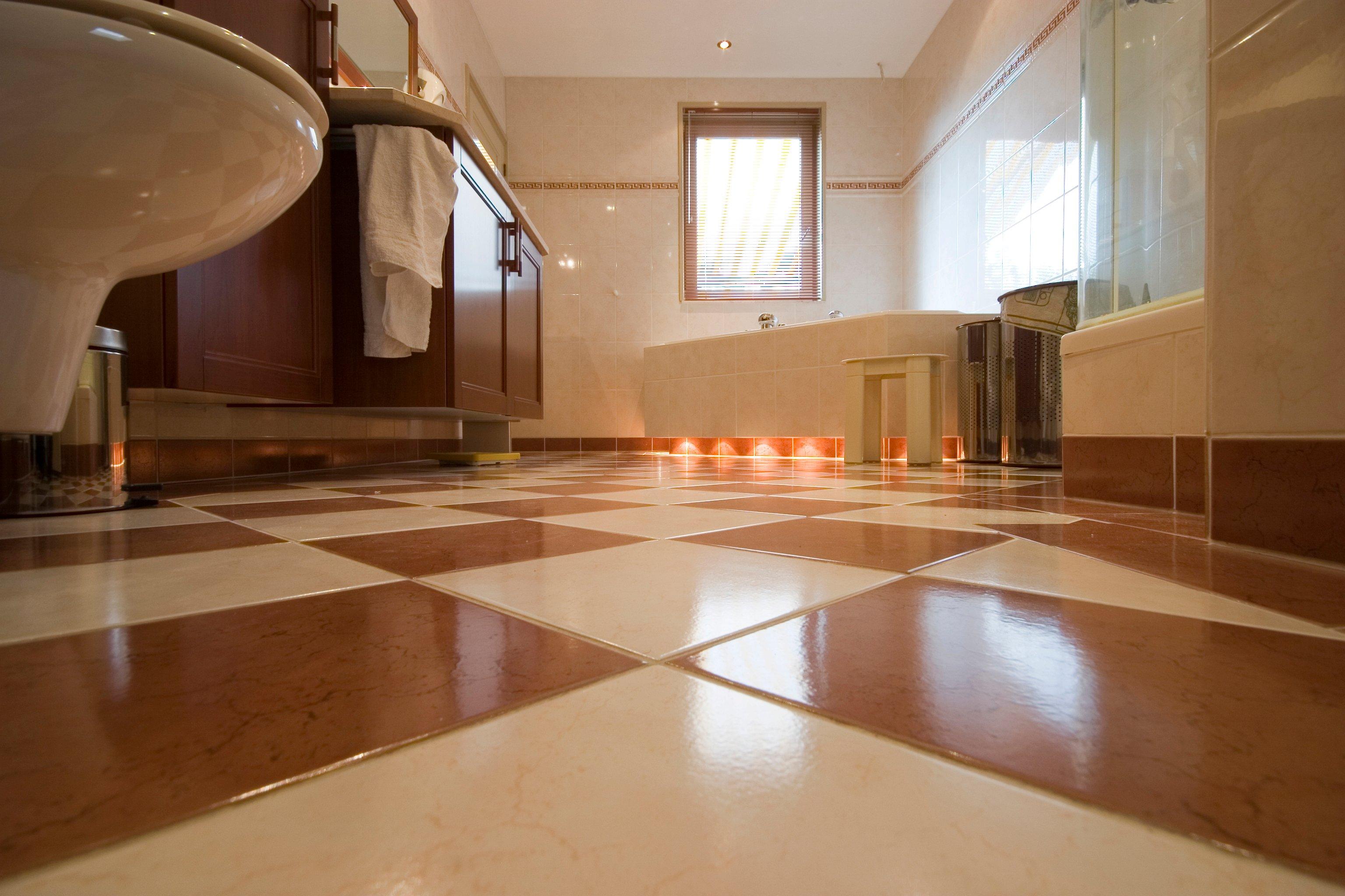 clean tile floor treatment for bathroom floor | The Most Effective Way to Clean Tile Floors | WarmlyYours