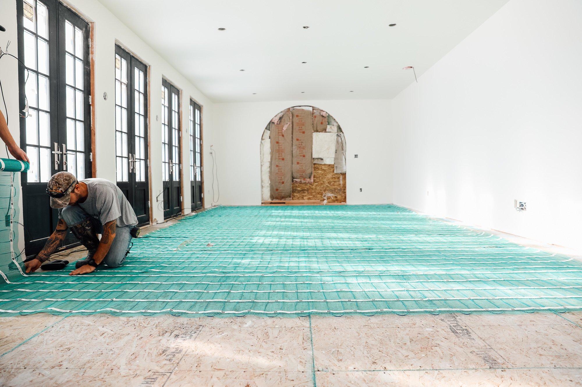Floor Heating Installer