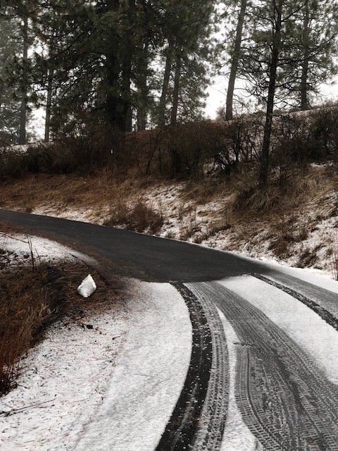 Driveway - Asphalt, Tire tracks, Snow Melt Mat copy