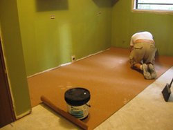 Heated Floor install