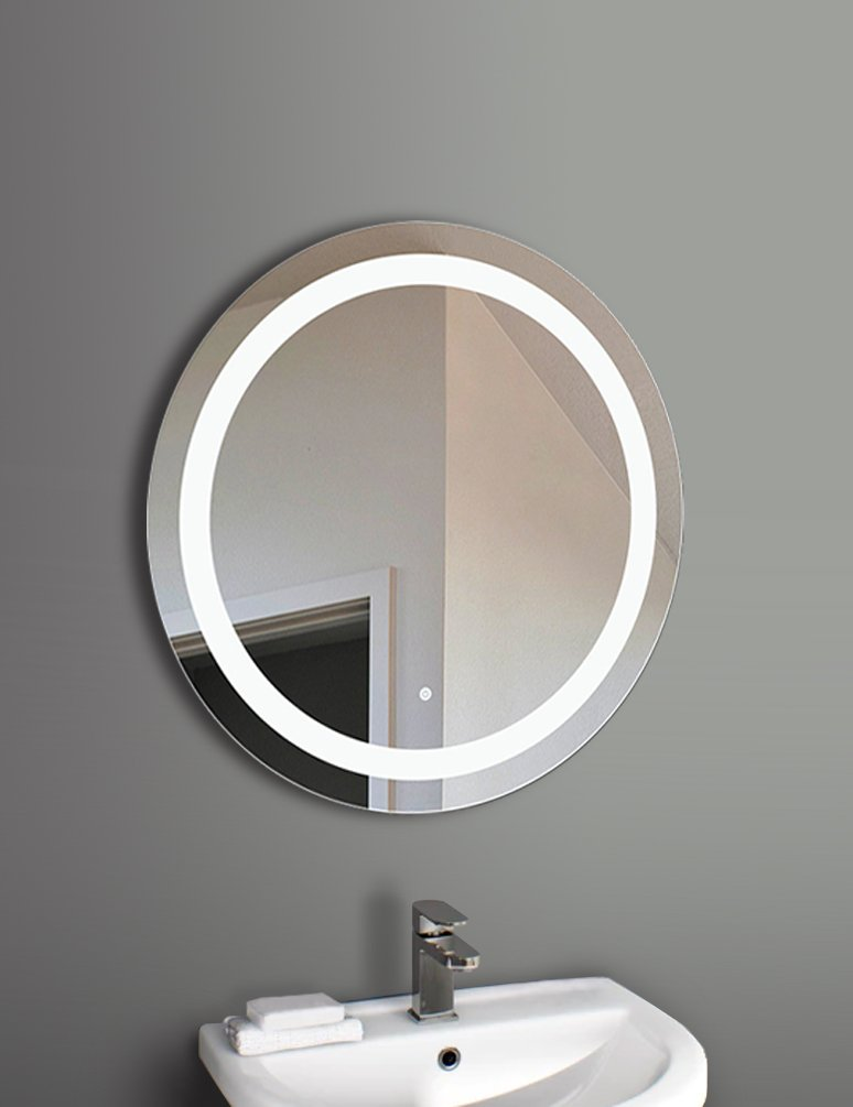 Marilyn Wall Mounted Led Mirror With 27 5 Diameter