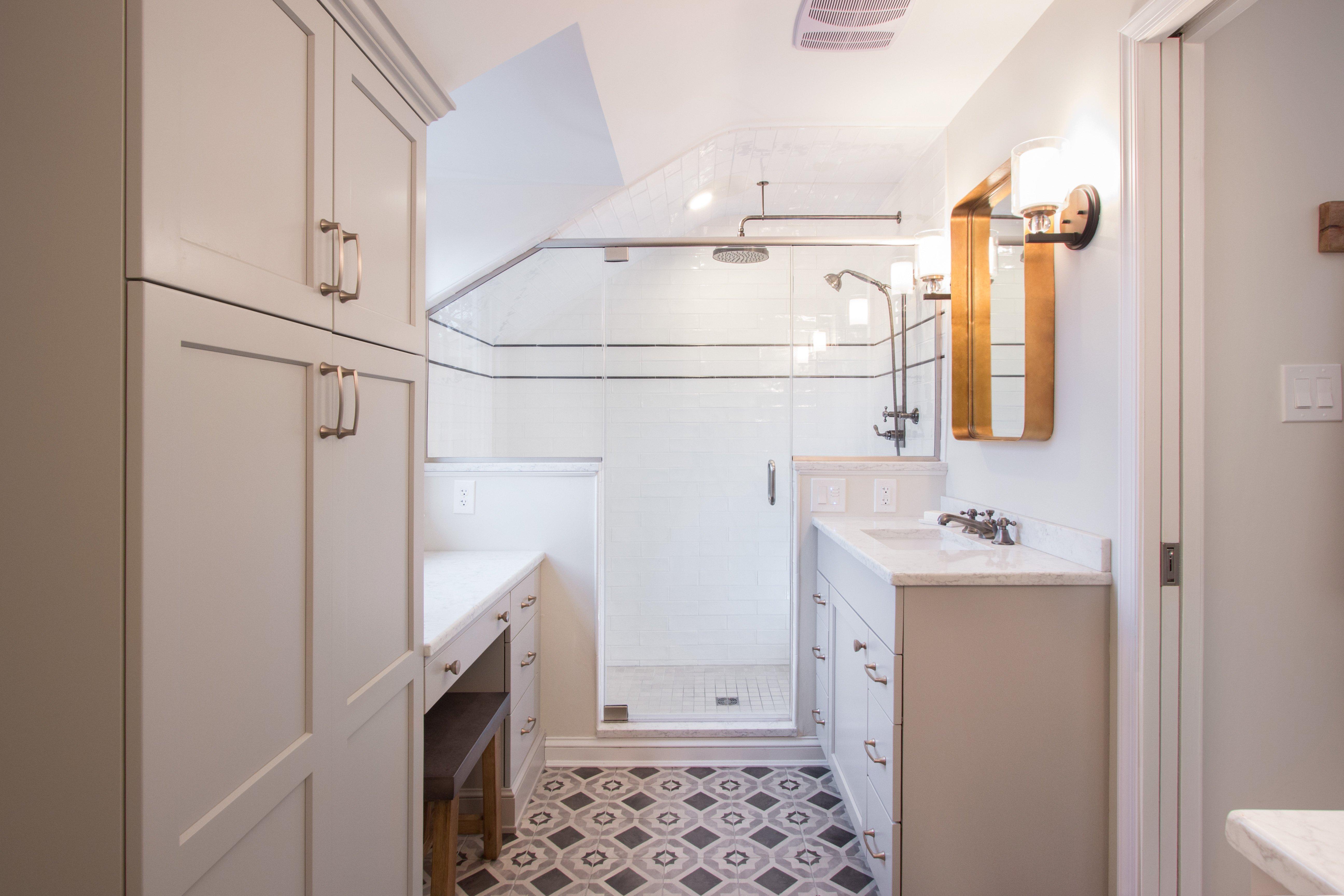 Floor Heating In A Small Bathroom