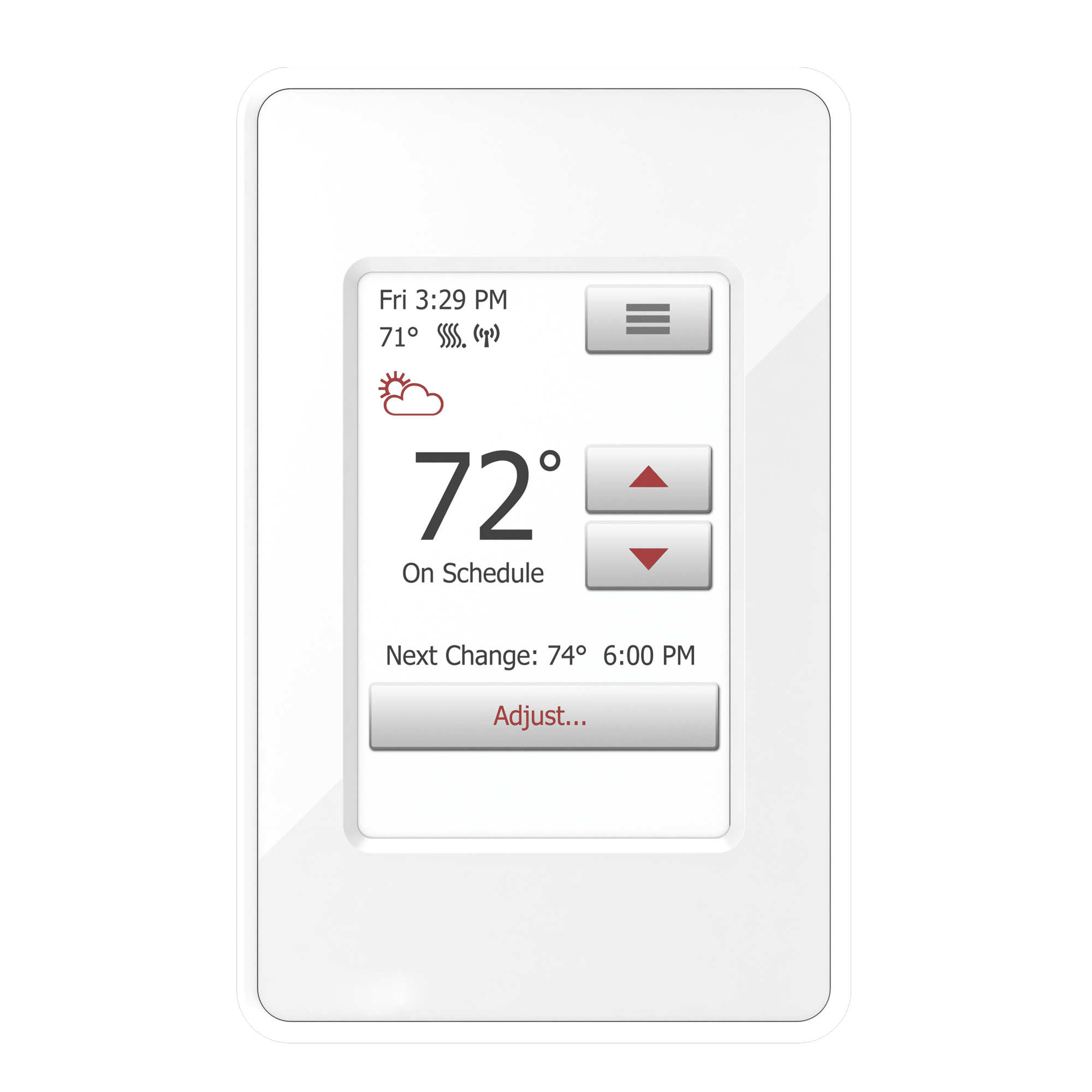 Floor Heating Thermostats Systems Electric Heated Under Thermostat Uwg4 4999 Nspire Touch Wifi 1c7be1