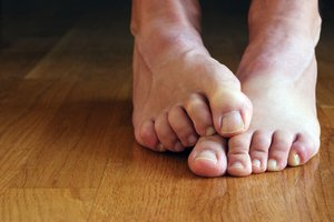 warm feet with radiant heat