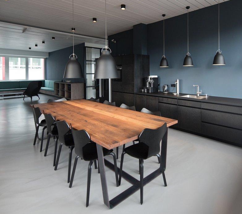 Underfloor Heat Economically Warms Concrete Kitchen Floors ...
