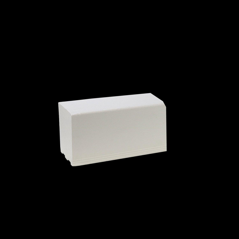 Pro GEN II Solid Polystyrene Shower Curb - 2' Long