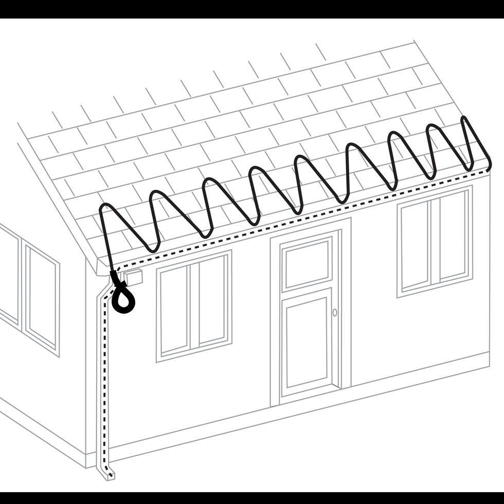 Roof  U0026 Gutter Deicing
