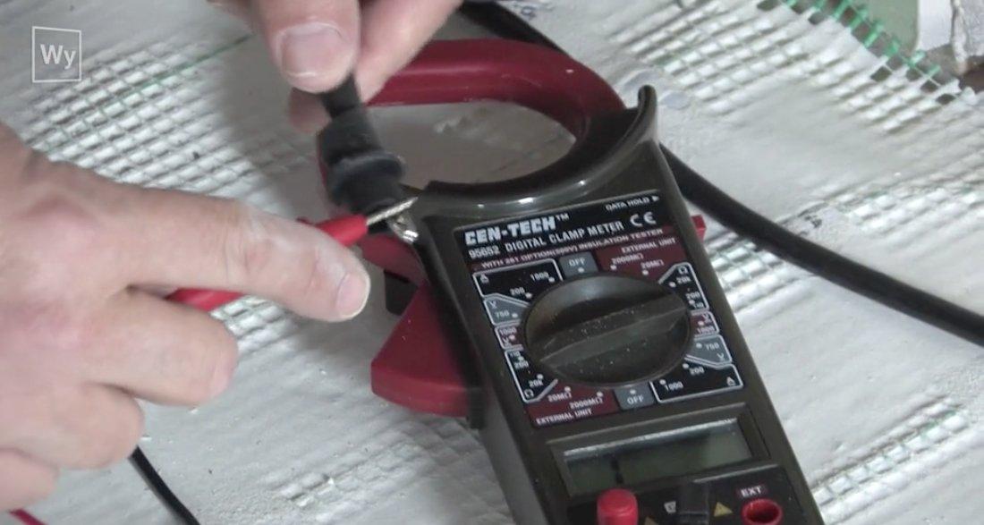 Underfloor Heating Repair | How to Find Broken Wire in ... on basement heating, ceiling heating, boiler heating, wall heating, home heating, infloor heating, water heating, radiator heating, oil heating, gas heating,
