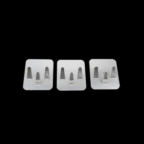 Aluminum 3-prong roof clip (25 per pkg) ET-CL-AL-P25