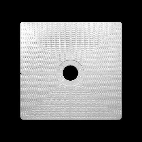"Pro GEN II 48"" x 48"" Shower Pan with Center Drain"