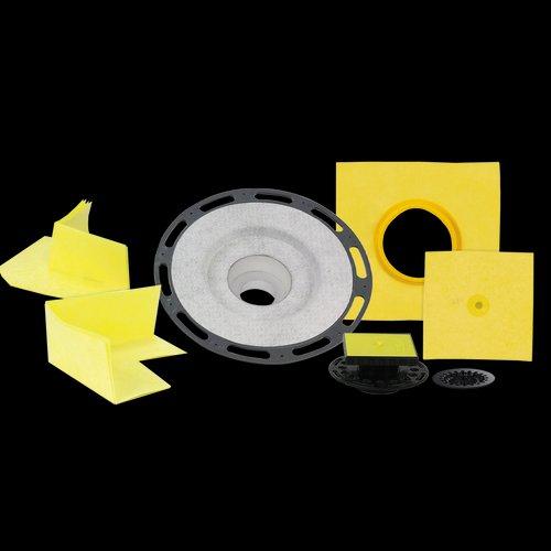 Pro GEN II Shower Drain Assembly Kit - PVC Flange