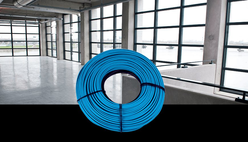 Slab Heat Cable Heating System Banner
