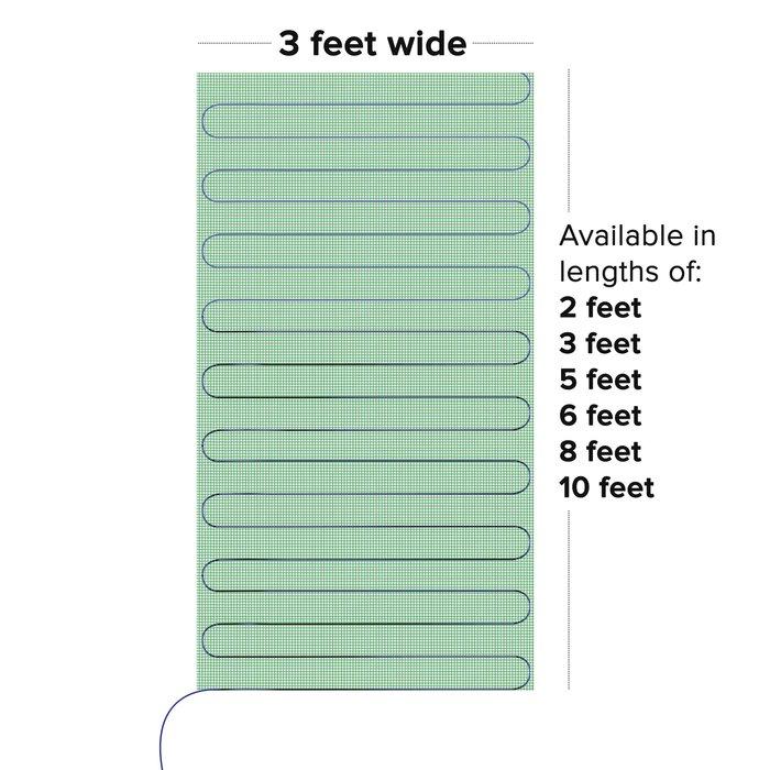 Amazon TempZone Easy Mat Sizes