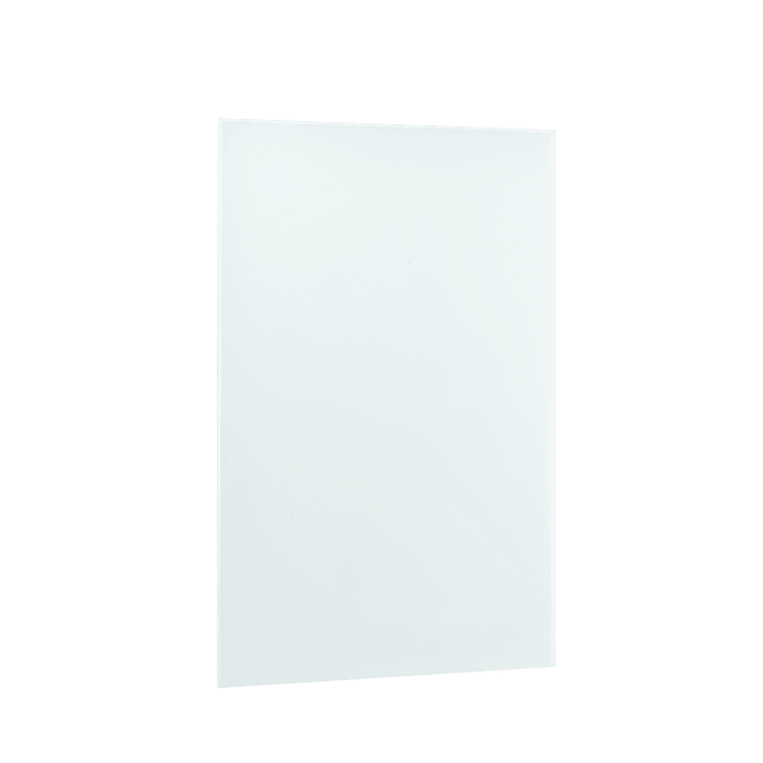 Ember Heating Panel Glass White 600W - 35 in. x 24 in., 5.0A IP-EM-GLS-WHT-0600