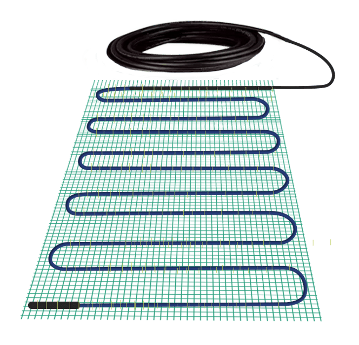 Product Hero Shot of the TempZone Shower Bench Mat