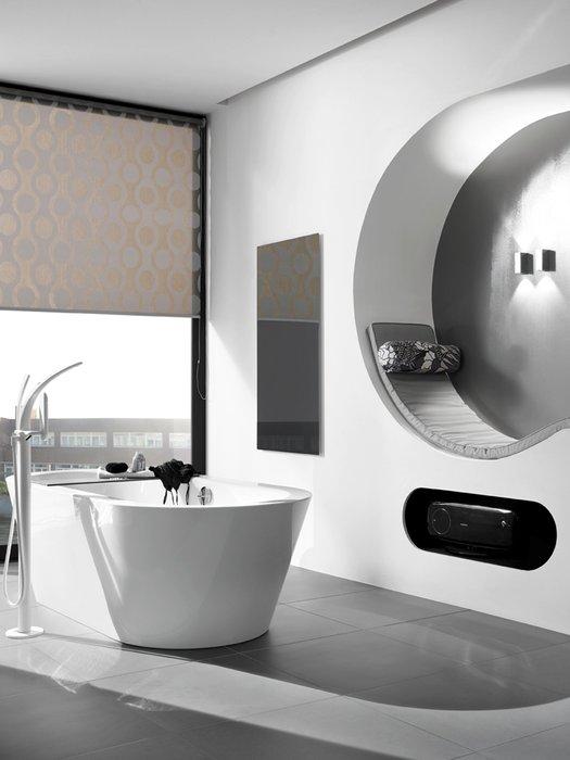 Radiant Heating Panels Ember Black Glass