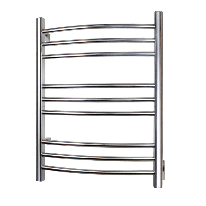 Riviera Towel Warmer - Hardwired (Brushed Stainless Steel) TW-R09BS-HW