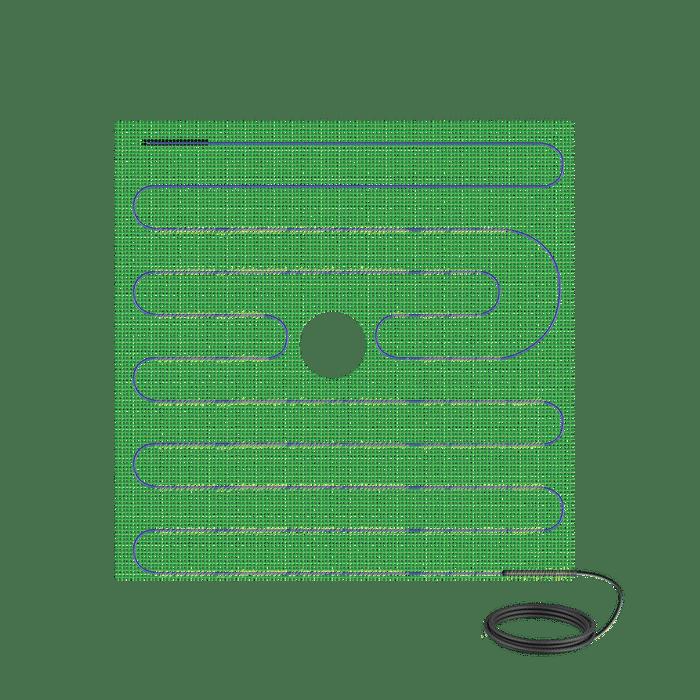 Tempzone™ Shower Mat 120V 32'' x 60'' , 13.3 sq.ft., 1.7A TRT120-2.7x5.0