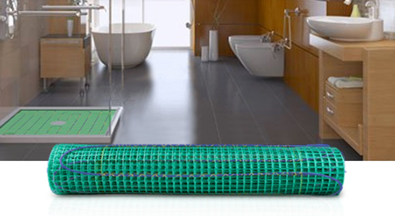 TempZone Shower Mats Heating System Banner