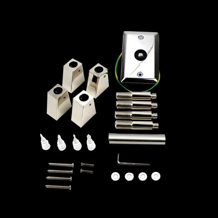 Parts Kit Assembly, Riviera, Polished AK05-51020-0000