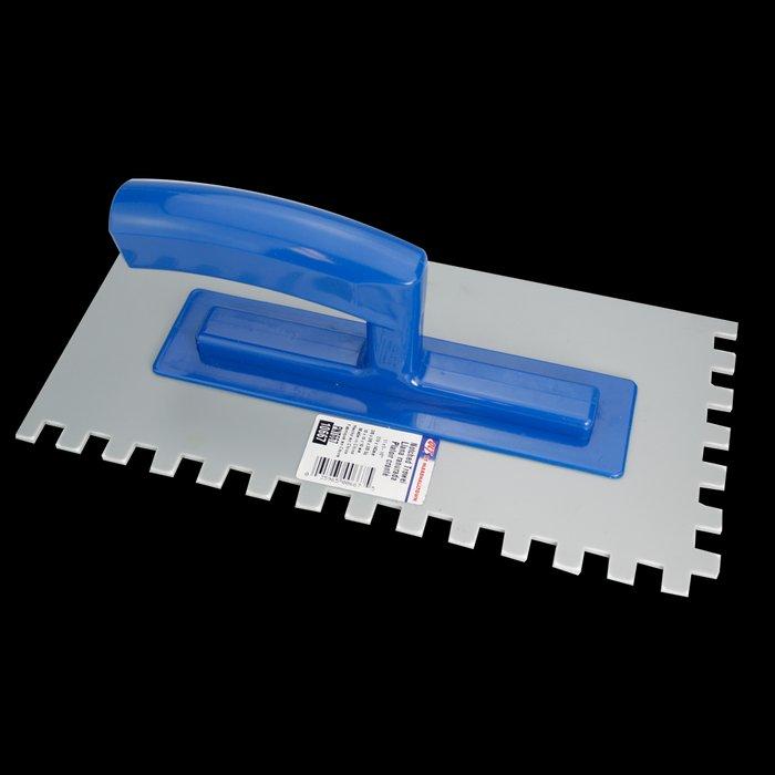 "Trowel - Plastic Notched 11"" X 5 1/2""; Notch-SQ 3/8"" FHT-10667"