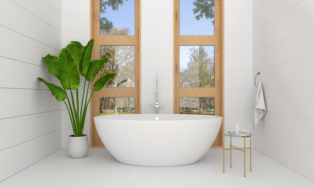Luxury Bathroom: Tile, Marble or Stone