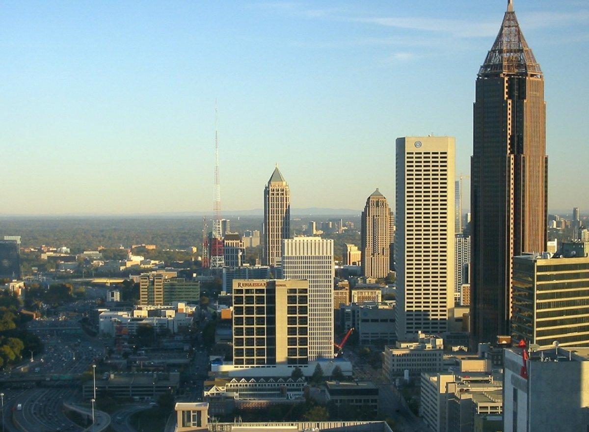 Atlanta Skyline-Morning