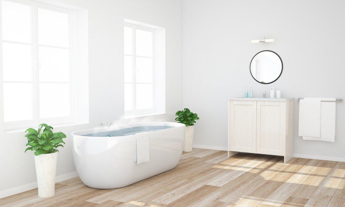 Terrific Heated Bathroom Floor Bathroom Floor Heating Cost Download Free Architecture Designs Embacsunscenecom