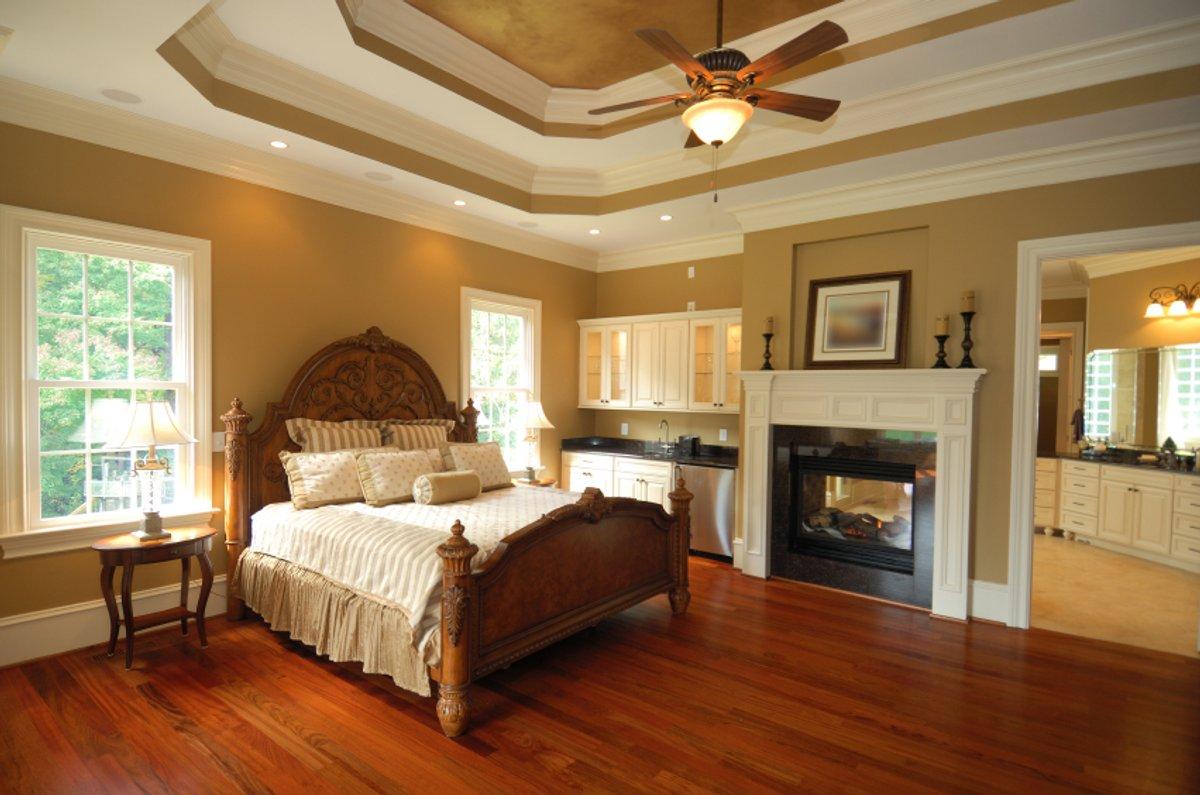 Bedroom Lifestyle Stock Photo