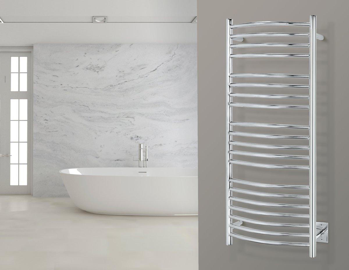 Bellagio Towel Warmer Polished Lifestyle