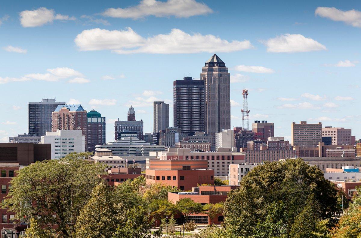 Des Moines Skyline for FP blog