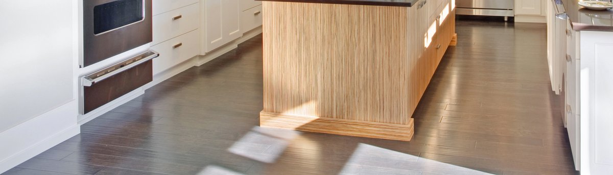 Kitchen floor lifestyle image - cropped