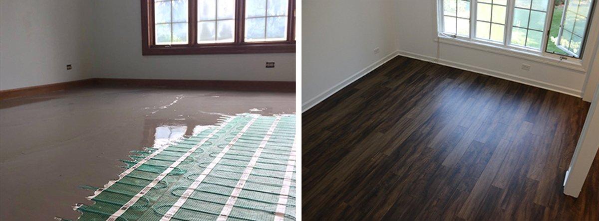 Thinset Vs Self Leveling When Installing Radiant Floor Heating