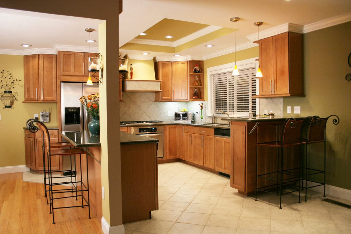 Small Cozy Kitchen with Radiant Heat