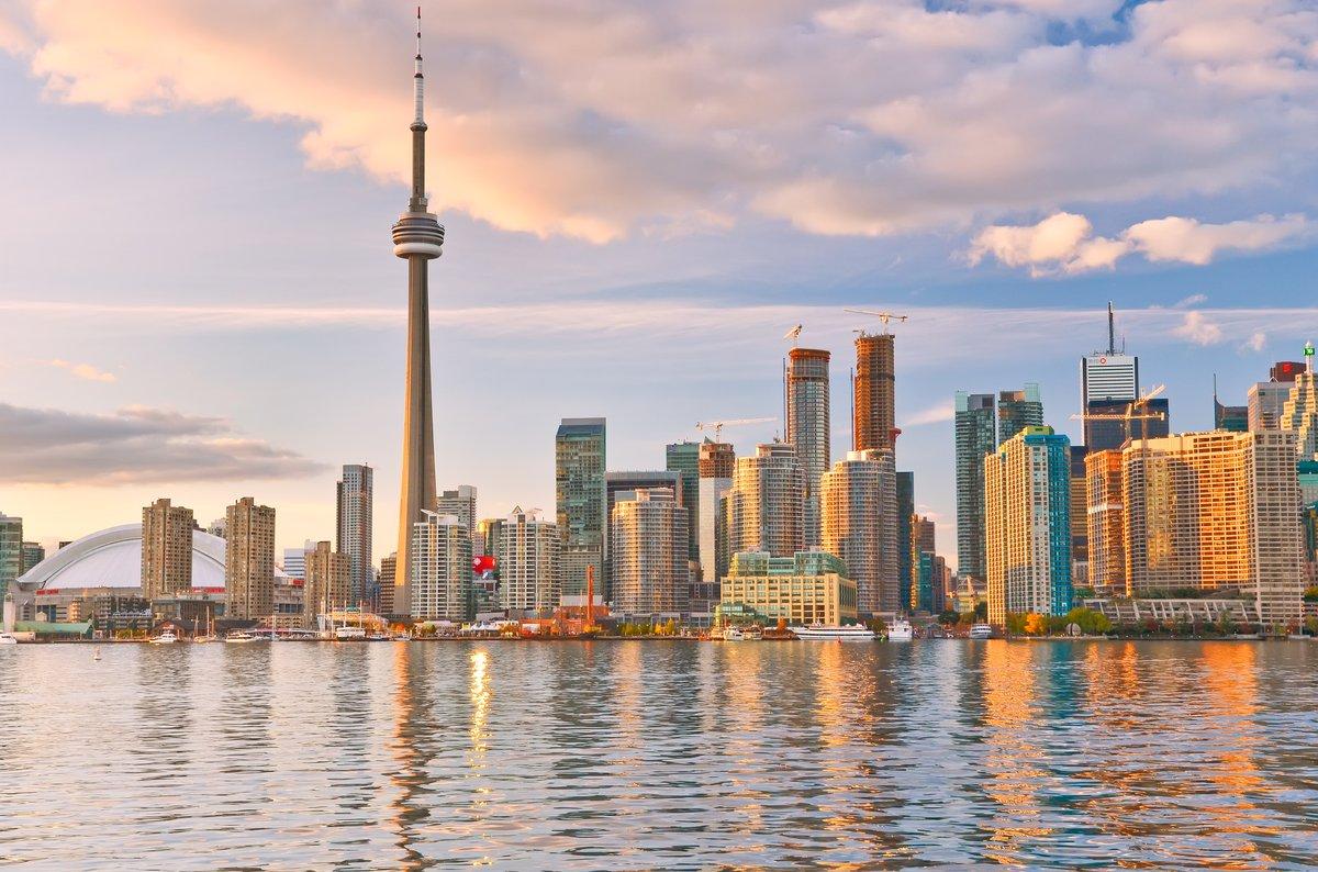 Toronto Skyline at Dusk for Kitchen Floor heating Blog