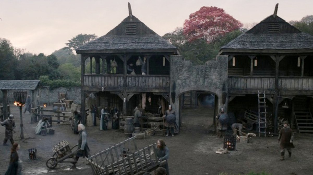 Winterfell from HBO's Game of Thrones