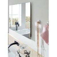 Radiant Panel Ember Mirror White Bathroom