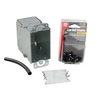 Electrical Rough-in Kit Single Gang Box without Conduit