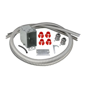 Electrical Rough-in Kit Single Gang Box with Double Conduits