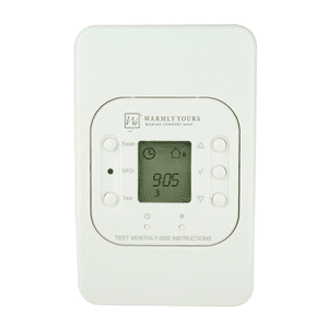 Floor heating control energystat 9163d1