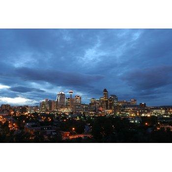 Calgary skyline cloudy f8764d