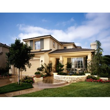 House exterior landscaping and walkway e1e735