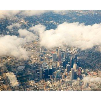 Houston skyline aerial view ba1f8c