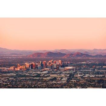 Phoenix skyline aerial view 389151