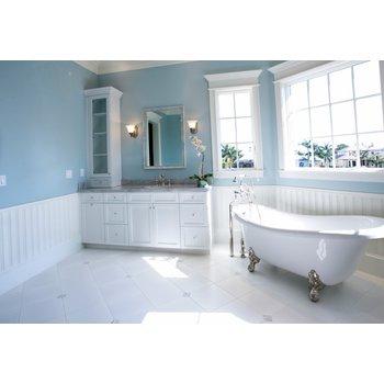 Vintage bathroom lifestyle stock photo 4f6cad