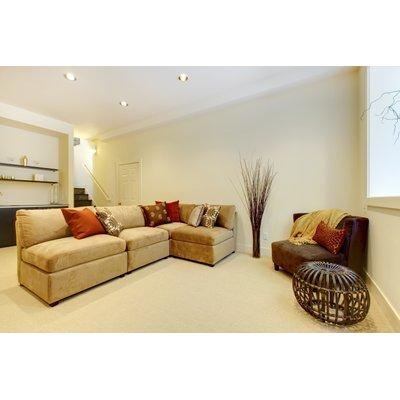 Basement Room Lifestyle Stock Photo