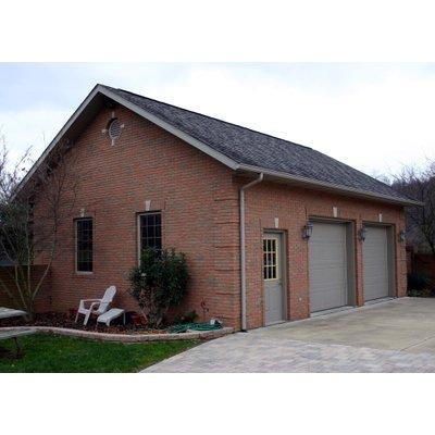 Garage with two doors