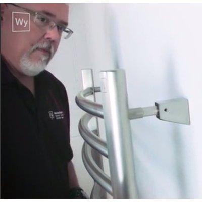 Mounting a towel warmer