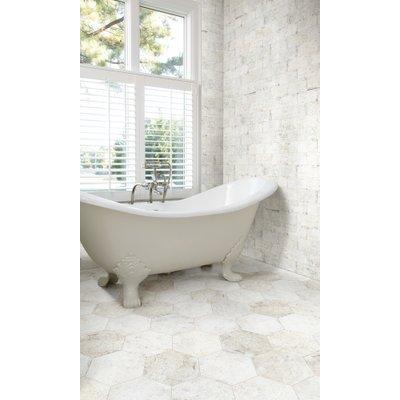 Porcelain tile in bathroom