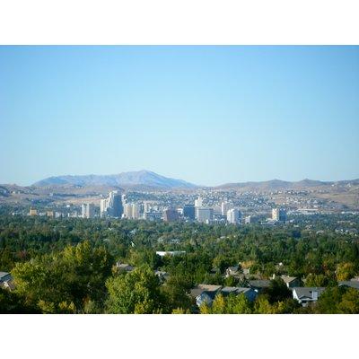 Reno NV skyline